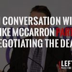 In Conversation with Mike McCarron Part 6- Negotiating the Deal - Left Lane Associates - News SM